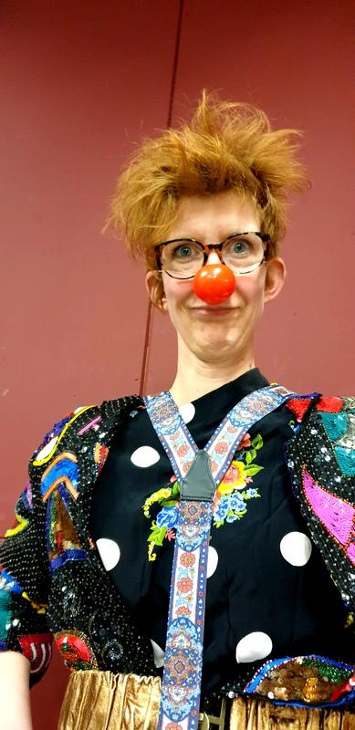 Clown op maat